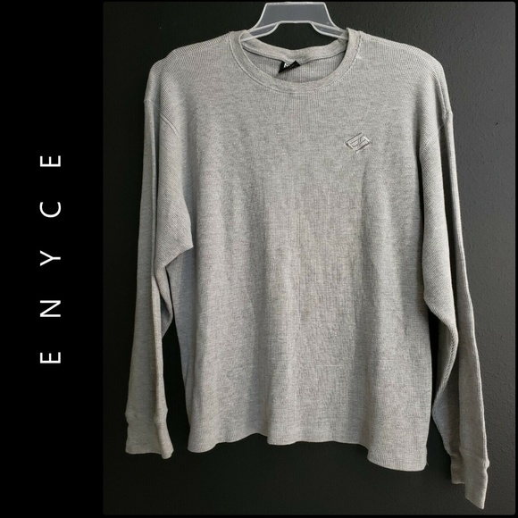 Enyce Other - Enyce Men Long Sleeve Pull Over Crew Neck Sweater
